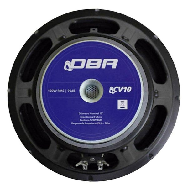"""Alto falante de 10"""" polegadas - CV10 - DBR"""
