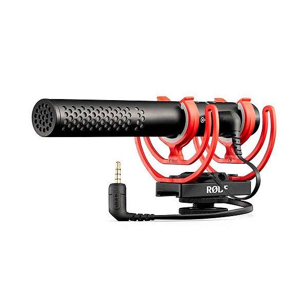 Microfone Rode VideoMic NTG Shotgun para Câmera e Smartphone