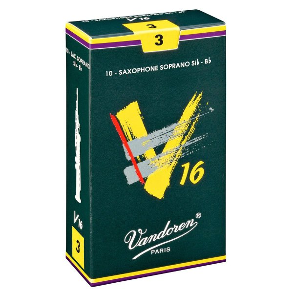 Palheta Vandoren V16 Nº 3 para Sax Soprano