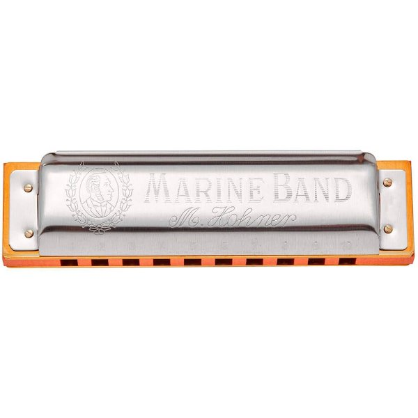 Harmonica Marine Band 1896/20 - E (MI) - HOHNER