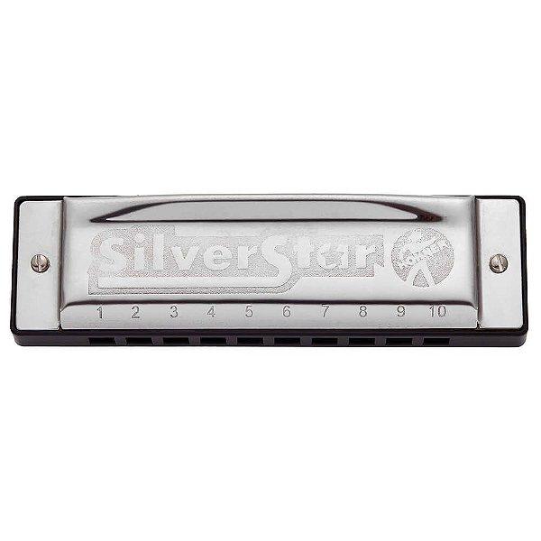 Harmonica Silver Star 504/20  - F (FA) - HOHNER