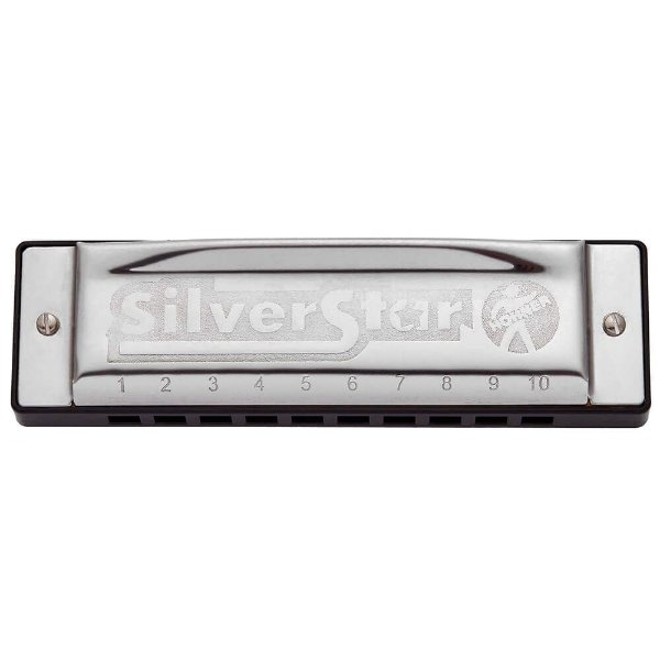 Harmonica Silver Star 504/20  - D (RE) - HOHNER