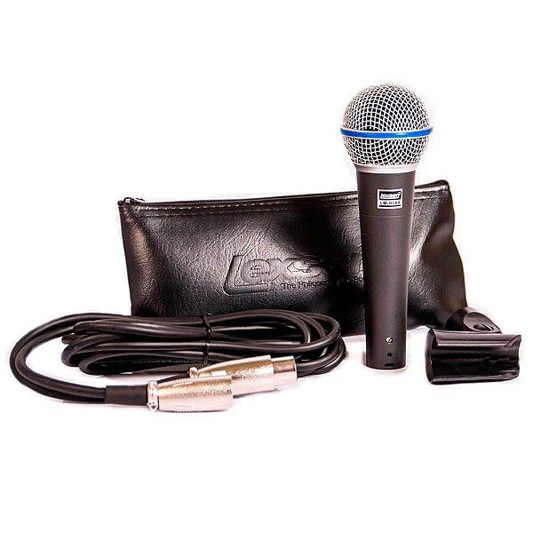 Microfone com fio supercardioide - LM-B58A - Lexsen