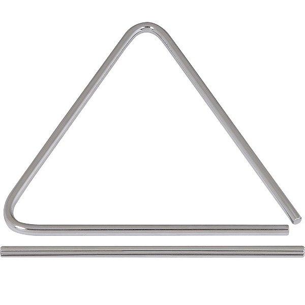 Triângulo Spanking de Aço Cromado Tamanho 25cm