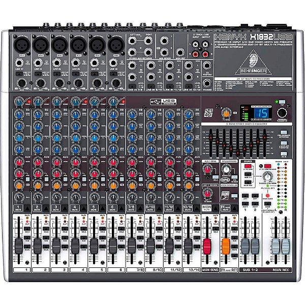 Mixer Xenyx BiVolt - X1832USB - Behringer