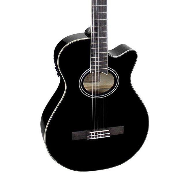 Violão Elétrico Giannini GNF-1D Mini-Jumbo Black