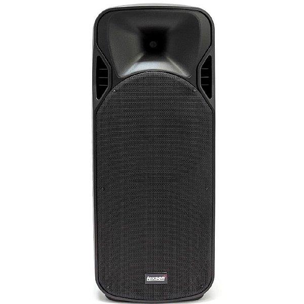 Caixa acustica injetada 400W BiVolt - LPS-2015A MP3 - Lexsen