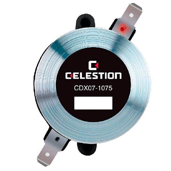 Driver de compressao CDX07-1075 15W - Celestion