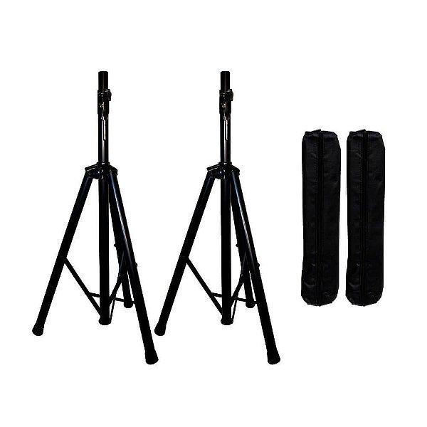 Kit com stand para caixa acustica (2pcs + bag)  - SPS-2 - Lexsen