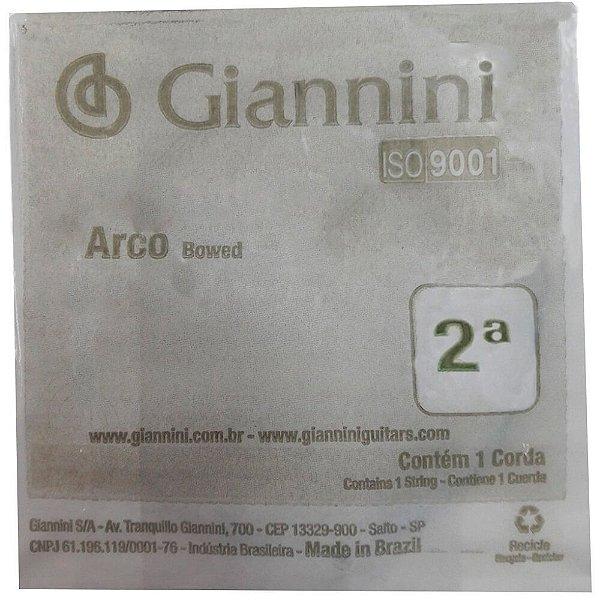 Corda Avulsa Giannini GEAVVA Segunda Lá para Violino