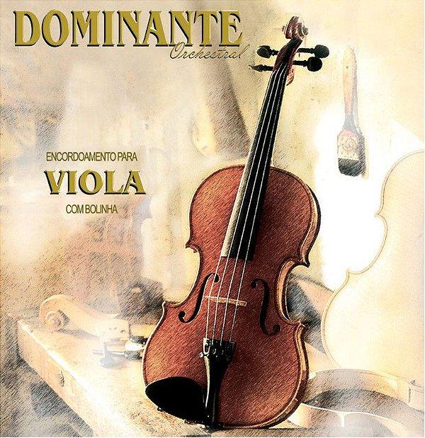 Encordoamento Dominante Orchestral para Viola de Arco