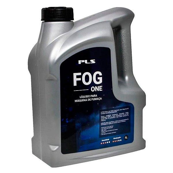 Liquido para maquina de fumaca fog - Caixa com 4 galoes de 4 litros - FOG ONE - PLS
