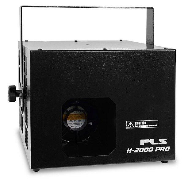 Maquina de fumaca 220V - H-2000 PRO - PLS