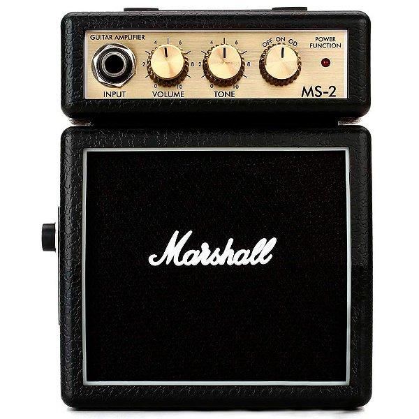 Micro combo Marshall para guitarra black - MS-2-E