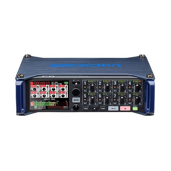 Gravador Digital Multi-track Zoom F8n USB