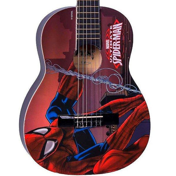 "Violão PHX Acústico Infantil Nylon 30"" (1/4) Marvel Spider-Man VIM-S1"