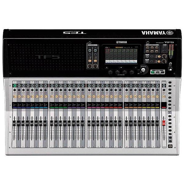 Mesa De Som Digital Yamaha 48 Canais Tf5 Preta/prata