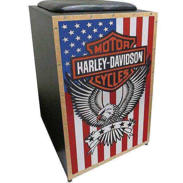 Cajon Elétrico Jaguar K2 Harley Davidson Inclinado