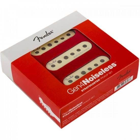 Set De Captadores Fender Gen 4 Noiseless Stratocaster