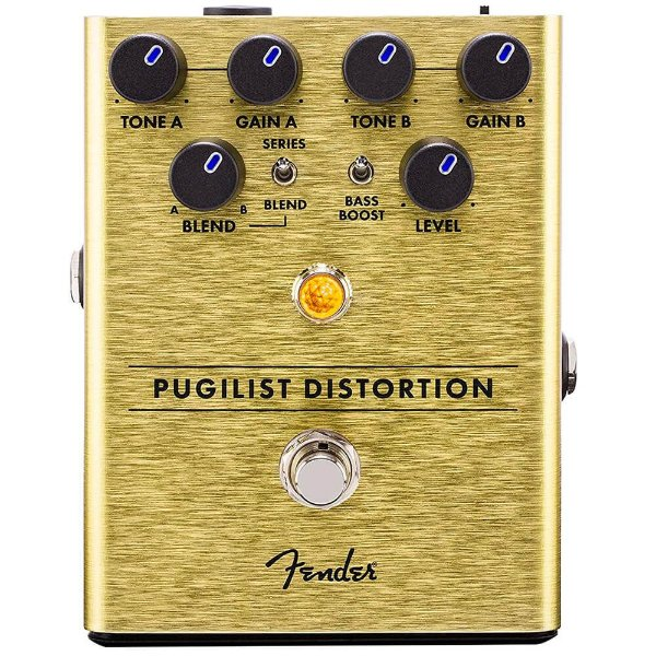 Pedal Fender Pugilist Distortion Para Guitarra