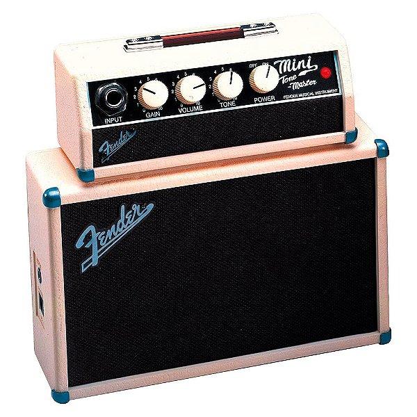 Mini Amplificador Fender Blonde Tone Master Para Guitarra