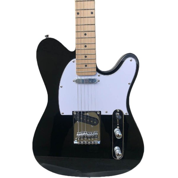 Guitarra Waldman GTE-100 Telecaster Black