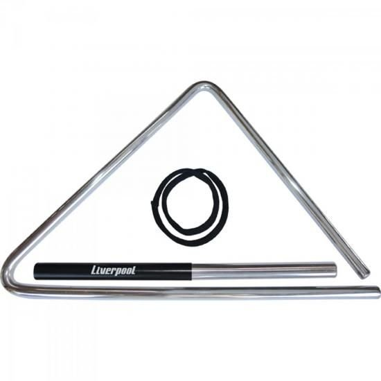 Triângulo de Aço 43cm Para Forró TF 537 Cromado LIVERPOOL