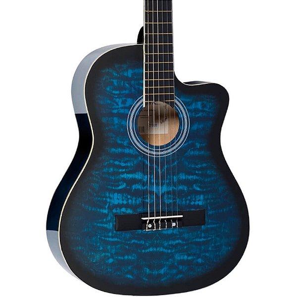 Violão Acústico Vogga VCA227N Nylon Clássico Blue