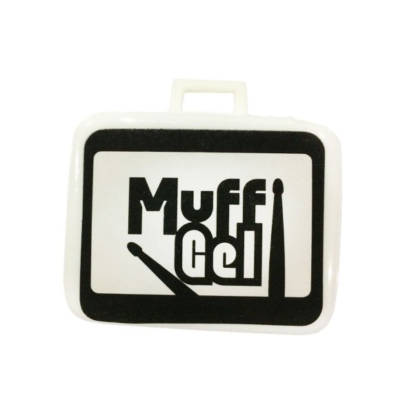 Kit com 6 Abafadores Gel Muff Luen Percussion para Peles