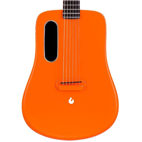 Violão Elétrico Lava Music Me 2 Freeboost Orange com Case