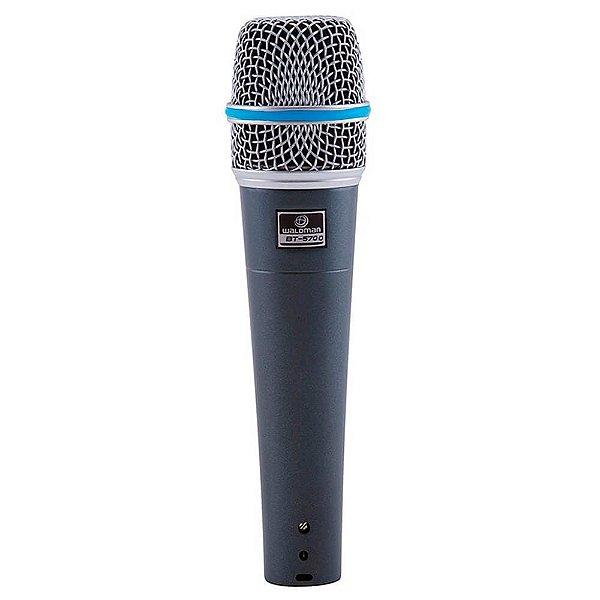 Microfone Dinâmico Waldman BT-5700 Broadcast Super Cardioide