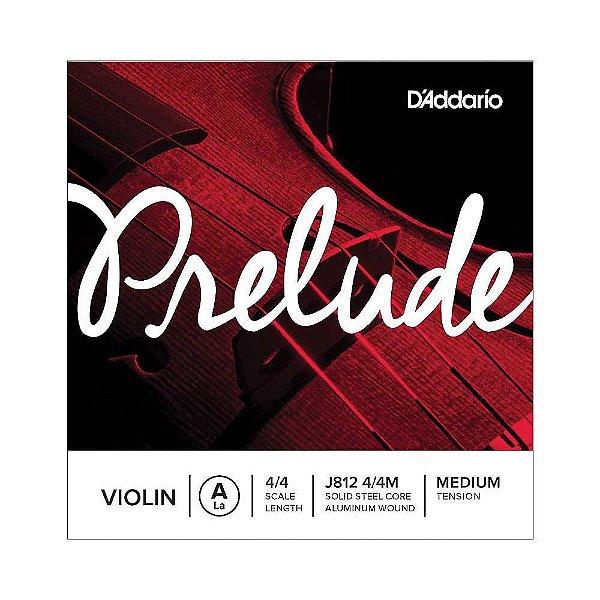 Corda Avulsa Violino LA D'Addario Prelude J812 4/4M