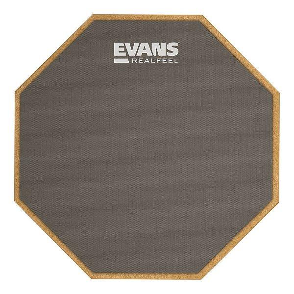 Pad De Velocidade 6' Face Unica Com Encordoamento Para Estante Evans RF6GM