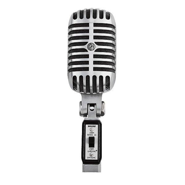 Microfone Dinâmico Shure 55SH Vintage Series II Cardióide