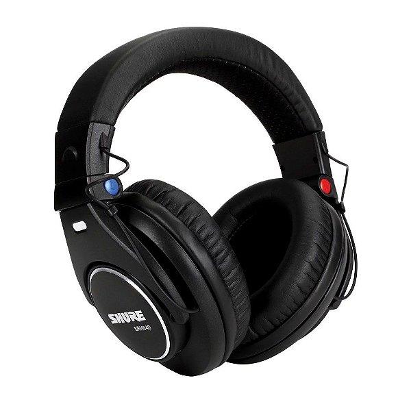 Fone de ouvido para monitoracao profissional com fio - SRH840 - Shure