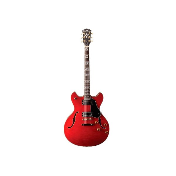 Guitarra semi acustica vintage sem case HB35WR - Washburn