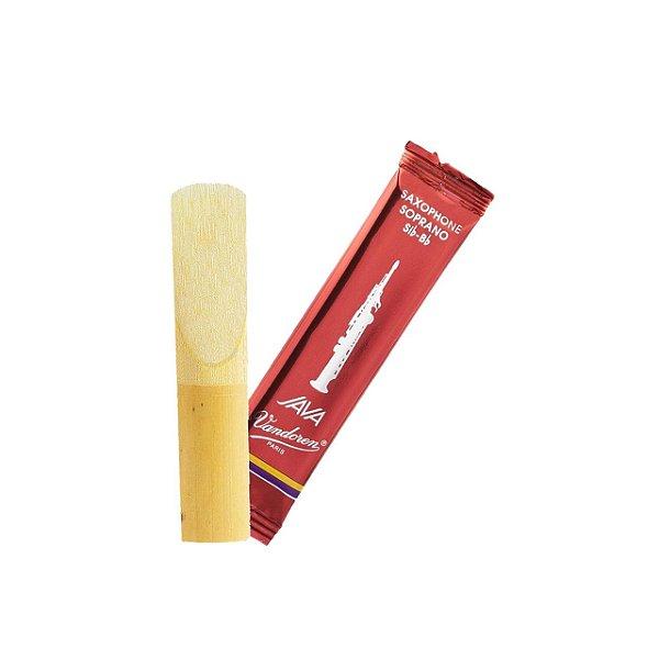 Kit C/ 10 Palhetas Vandoren Java Red Cut N° 2 P/ Sax Soprano