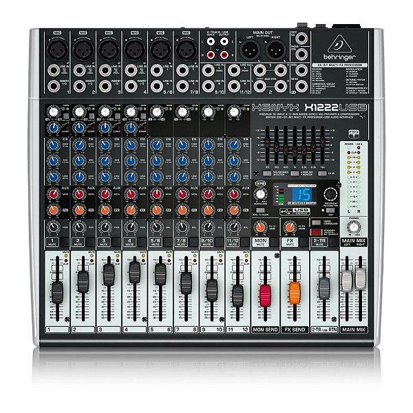 Mixer Xenyx BiVolt - X1222USB - Behringer