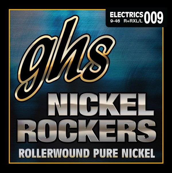 R+RXL/L - ENC GUIT 6C NICKEL ROCKERS 009/046 - GHS
