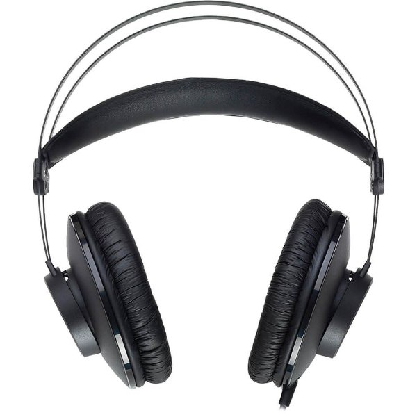 Fone de Ouvido Akg K52 Profissional Over-ear Preto