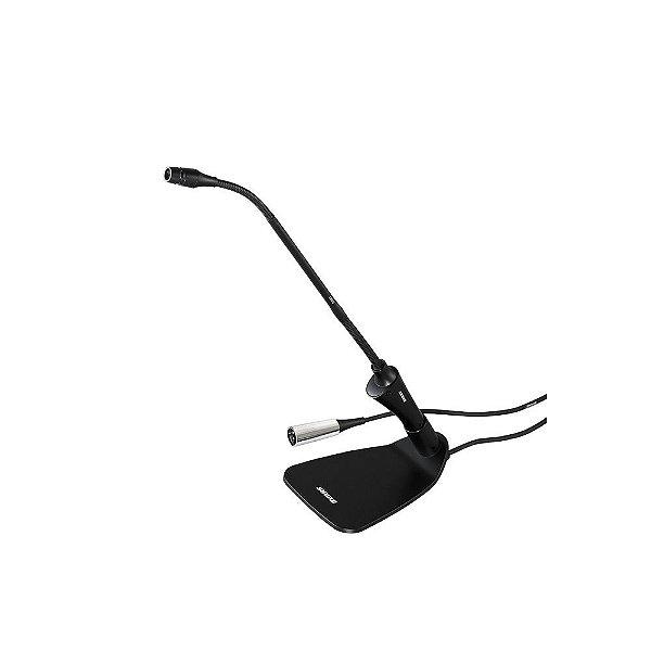 Microfone condensador cardioide Gooseneck de mesa com fio - CVG12-B/C - Shure