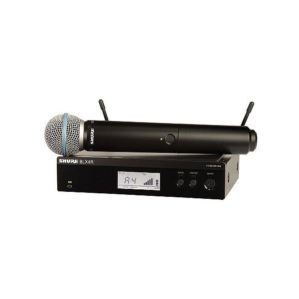 Sistema sem fio com microfone de mao - BLX24RBR/B58-M15 - Shure