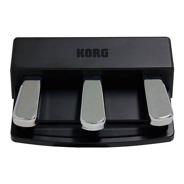 Pedal Sustain Triplo Korg PU-2 para Piano Digital Korg