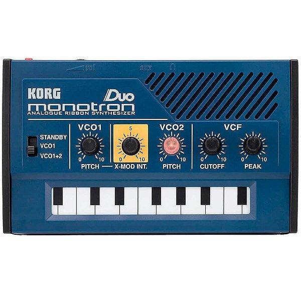 Módulo Sintetizador Analógico Korg Monotron Duo