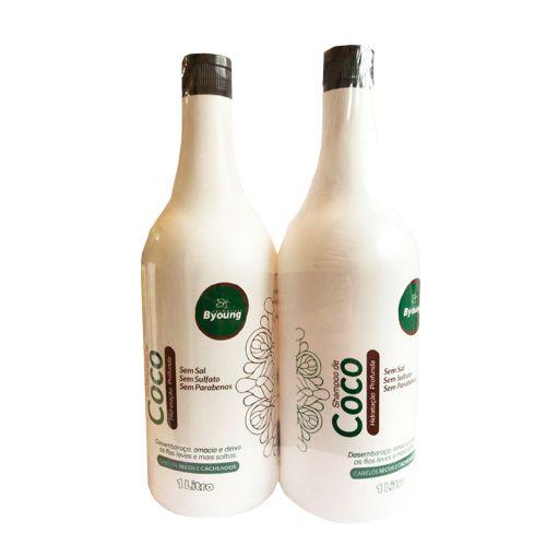 Kit Byoung COCO Shampoo e Condicionador  1000ML