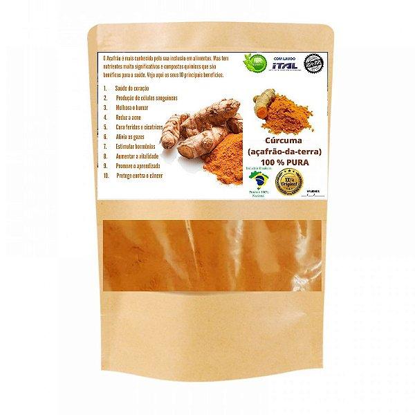 500 G Cúrcuma Curcumina 100% Pura e Natural Açafrão Da Terra Gengibre Amarelo Moído Pó
