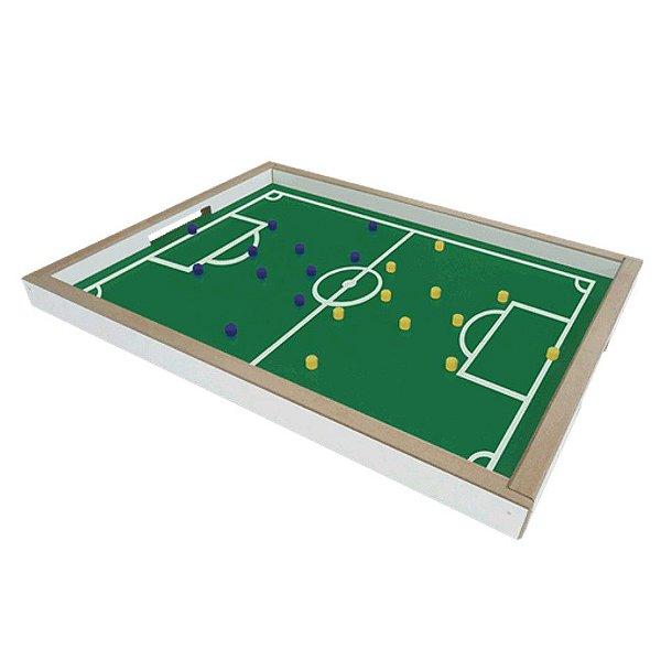 Brinquedo Jogo Dedobol Mini Campo Futebol Madeira - 610 Junges
