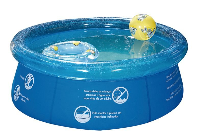 Piscina Inflável Splash Fun 1000 Litros Infantil - Mor