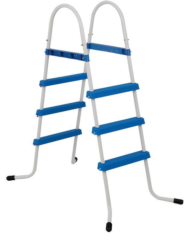Escada 3 Degraus Para Piscina Estruturada Ou Inflável - Mor