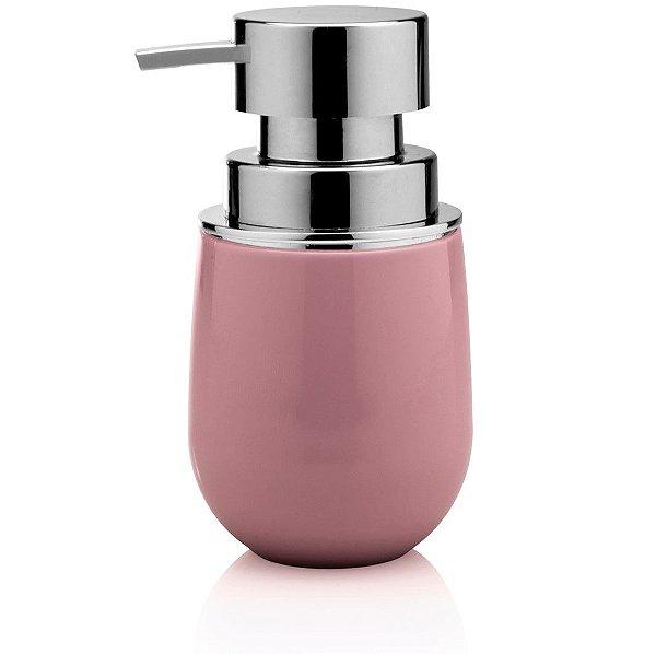 Dispenser Porta Sabonete Líquido Saboneteira Banheiro Belly - PSB 725 Ou - Rosa